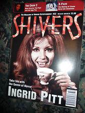 Shivers Magazine Issue 32 Ingrid Pitt,X Files, The Crow 2, Boris Karloff,