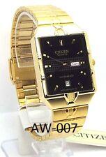 New Citizen Man Day-Date Window, Black dial Dress Watch