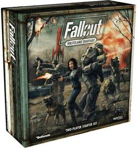 Fallout Wasteland Warfare Miniatures 2 Player Starter Set Brand New & Sealed