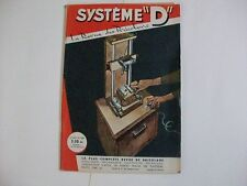 SYSTEME D N°202 10/1962 DEPANNER UNE MACHINE A LAVER TRANSFORMER UNE TABLE EN LI