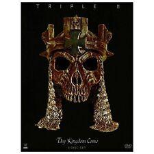 WWE: Triple H - Thy Kingdom Come (DVD, 2013, 3-Disc Set) >NEW<