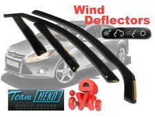 Ford Focus MK III 2011-   SALOON / HATCHBACK  Wind deflectors 4.pc HEKO 15295