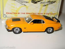 Matchbox Collectibles MOY 1970 70 FORD MUSTANG BOSS -Orange, 1/43 MINT IN BOX