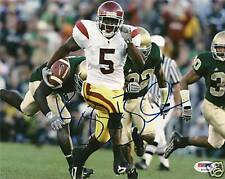 Reggie Bush Signed Auto'd USC 8x10 Photo PSA/DNA COA