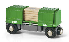 Brio Box Car Boxcar Wooden Train Engine Car 33561
