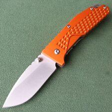 Sanrenmu 7063LUC-LJ SRM 763 High Quality EDC Folding Knife 8Cr14mov Orange