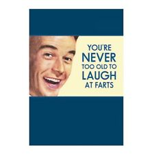 """Retro Humour """"You're Never Too Old"""" Greetings Card Birthday Gift Occasion Funny"""