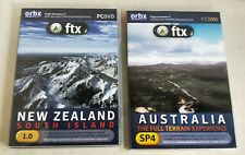 2 ORBX FTX Flight Simulator X Expansion Packs Australia and New Zealand (7496)