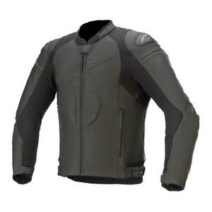 Alpinestars GP PLUS R V3 Leather Sport Motorcycle / Motorbike Black Jacket