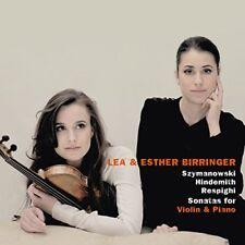Lea Birringer - Szymanowski - Hindemith - Respighi:  Violin Sonatas [CD]