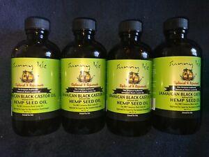 (4) Sunny Isle Jamaican Black Castor Oil Infused With Hemp Seed Oil