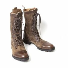 LIMI feu Suede switch combat boots Size US About  6(K-46152)