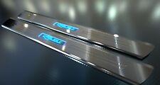 Per CHEVROLET CAMARO CABRIO * illuminata in acciaio inox barre di ingresso con incisione