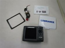 LOWRANCE CHIRP FISHFINDER HOOK 5X W/ SUN COVER MARINE BOAT
