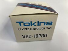Tokina Wide Angle 5x VSC-05 PRO AF Video Conversion Lens Brand New Old Stock