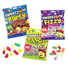 SweetZone 100% Halal Tangy / Fizzy / Party Mix Real Fruit Jelly Jellies Candy