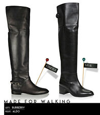 New Genuine leather classic black over the knee boots SOLD OUT ALDO 7.5 38