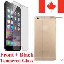 Premium Front & Back Tempered Glass Screen Protector Cover for Apple iPhone
