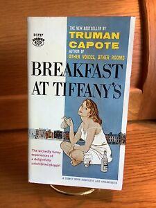 Breakfast at Tiffany's Truman Capote Signet PB 1959 1st Edition/1st Prt Like New
