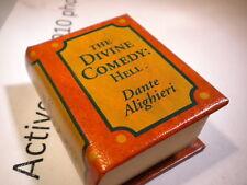 Del Prado miniature book - The Divine Comedy - Hell - Dante Alighieri