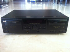 Vintage JVC TD-W216: double stereo cassette deck, working