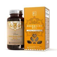 Berberine HCL  |  400mg  |  90 or 270 Capsules  |  Focus Supplements