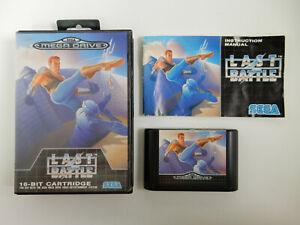 Last Battle - Sega Mega Drive - PAL - CIB - Komplett !