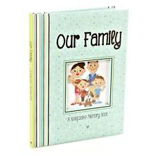 """Bebé/niños a nuestra familia """"un recuerdo Libro registro acolchada de memoria"""