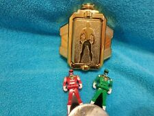 Bandai  Gokai Buckle Power Rangers Super Mega Force with 2 keys