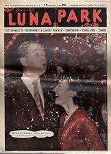 rivista fotoromanzo - LUNA PARK - Anno 1949 Numero 52 JIMMY HANLEY E P. CLARKE