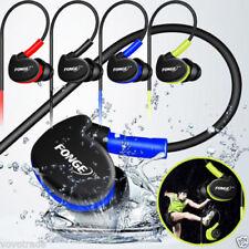 Wasserdicht 3.5mm In-Ear Sport Kopfhörer Bass Musik Ohrhörer Handy Headset Mic