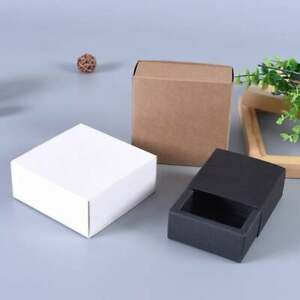 100x Sleeve Paper Box Cosmetic Glass Candle Product Packaging Box Favor Gift Box