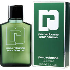 PACO RABANNE POUR HOMME 100ml EDT SPRAY FOR MEN -------------------- NEW PERFUME
