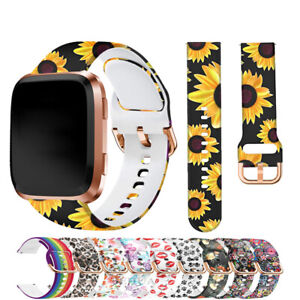 For Fitbit Versa / 2 Lite Silicone Wrist Strap Wristband Replacement Watch Band