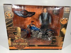 Ertl Racing Champions Harley Davidson 2003 Softail Deuce Series 2 w/12 inch Doll