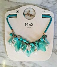 Marks & Spencers Turquoise Statement Necklace