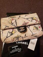 Chanel classic flap bag,ice cream
