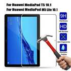 """For Huawei MediaPad M5 Lite T5 10 10.1"""" HD Tempered Glass Screen Protector Skin"""
