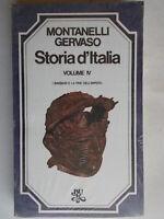 Storia d'Italia IV 4 i barbari e la fine dell'imperoMontanelli Gervaso BUR 213