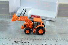 Wiking 1:87 John Deere 6920 S Tractor w/ Front Loader Orange HO Scale