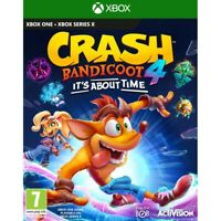 CRASH BANDICOOT 4: IT'S ABOUT TIME XBOX ONE / X SERIES PREORDER ACTIVISION GAME