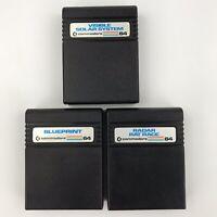 Lot of 5 Commodore 64 C64 Games Radar Rat Race Blueprint Visible Solar System