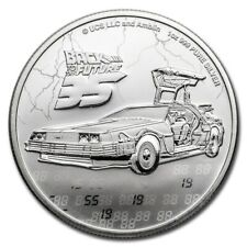 NIUE 2 Dollars Argent 1 Once Retour vers le Futur 2020 - Back to the future