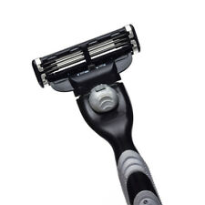 4pcs/Set Match 3 Cartridges Manual Razor Blades Shaving Three-layer Razor Blade