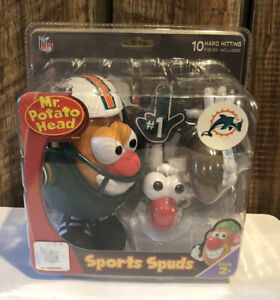 Miami Dolphins - Mr. Potato Head - NFL - Sports Spuds - New in Sealed Box!