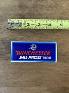 Winchester Ball Powder Sticker/Decal Gun Hunting Ammo Shot Show 2019 Authentic