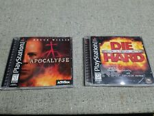 Die Hard Trilogy And Apocalypse (Sony PlayStation 1, 1996)