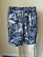 NWT Tek Gear CoolTek Iron Gray Warrior Basketball Shorts Athletic Running