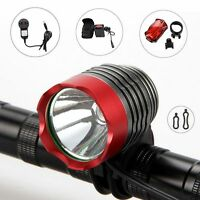 2000Lm CREE XM-L T6 LED Front Bicycle Lamp Bike Light Headlamp Torch