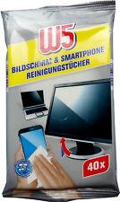 W5 Bildschirm & Smartphone Reinigungstücher (40 Stück)